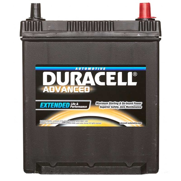12V 44Ah Type 063 420CCA Sealed OEM Replacement Duracell Advanced Car Battery