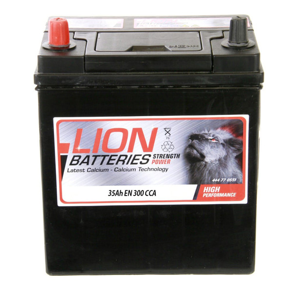 Lion 055 Car BAttery - 3 Year Guarantee