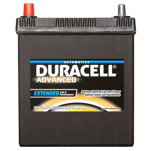 Duracell DA40L Advanced Car Battery Type 055 - 5 Year Guarantee