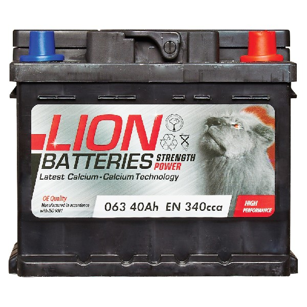Lion 063 Battery - 3 Year Guarantee