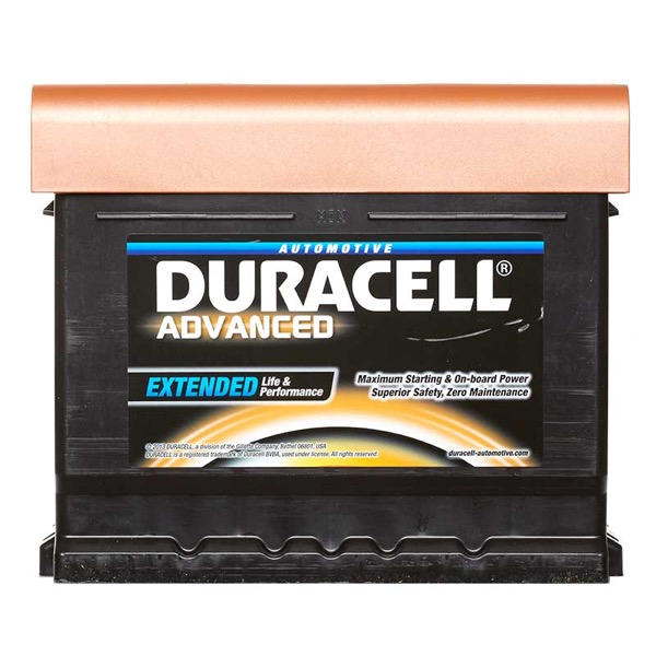 Duracell DA44 Advanced Car Battery Type 063 - 5 Year Guarantee
