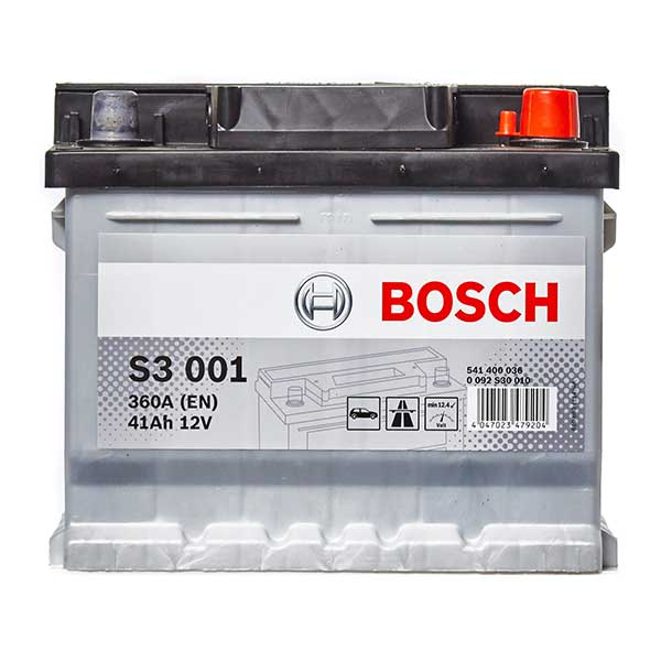 Bosch S3 Battery 063 3 Year Guarantee