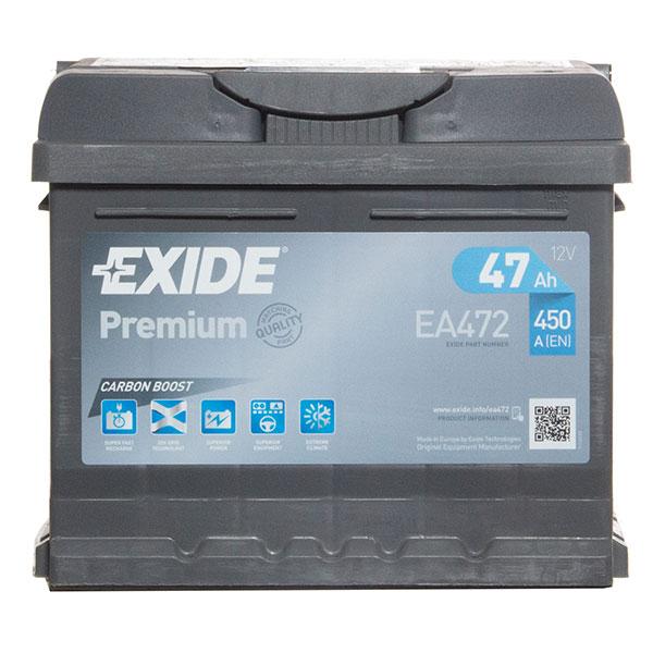 Exide Premium Battery(063 Car Battery (47Ah) - 5 Year Guarantee)