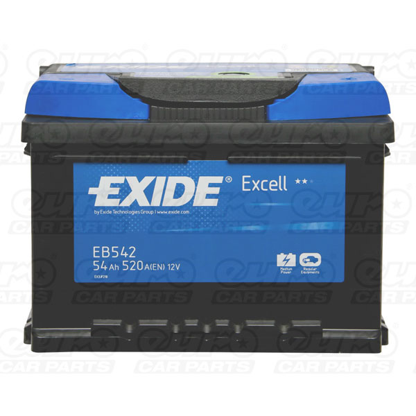Exide Excell Battery 065 3 Year Guarantee