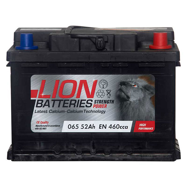 Lion 065 Car Battery - 3 Year Guarantee
