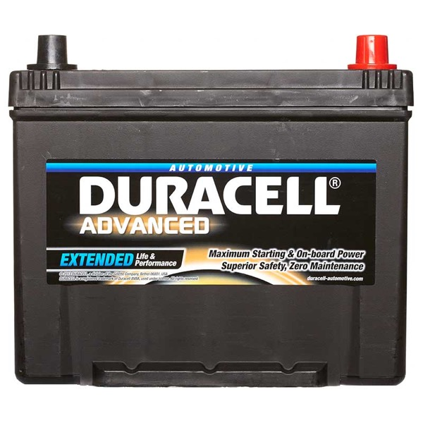 Duracell DA70 Advanced Car Battery Type 068 - 5 Year Guarantee