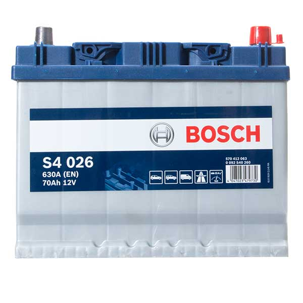 Bosch S4 Battery 068 4 Year Guarantee