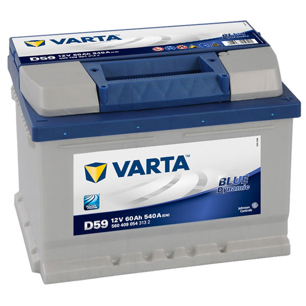 Varta Blue 075 Car Battery - 4 Year Guarantee