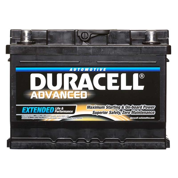 Duracell DA60T Advanced Car Battery Type 075 - 5 Year Guarantee