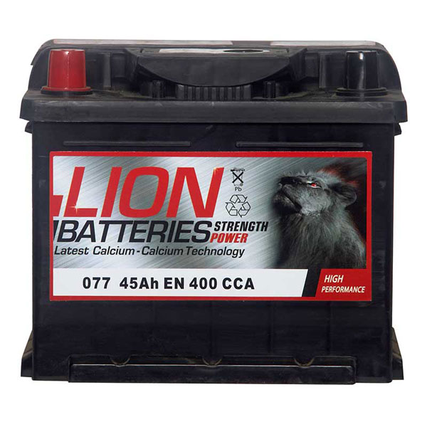 Lion Battery 077 3 Year Guarantee