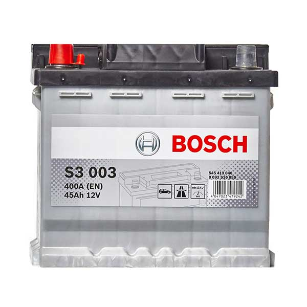Bosch S3 Car Battery 077 3 Year Guarantee