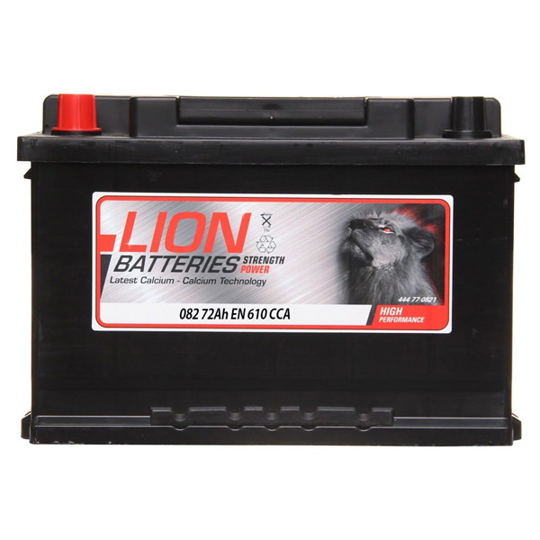 Lion Battery 082 3 Year Guarantee