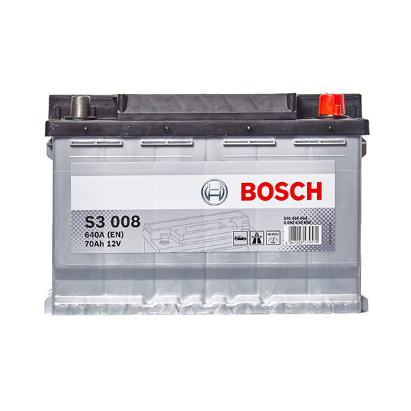 Bosch S3 Battery 096 3 Year Guarantee