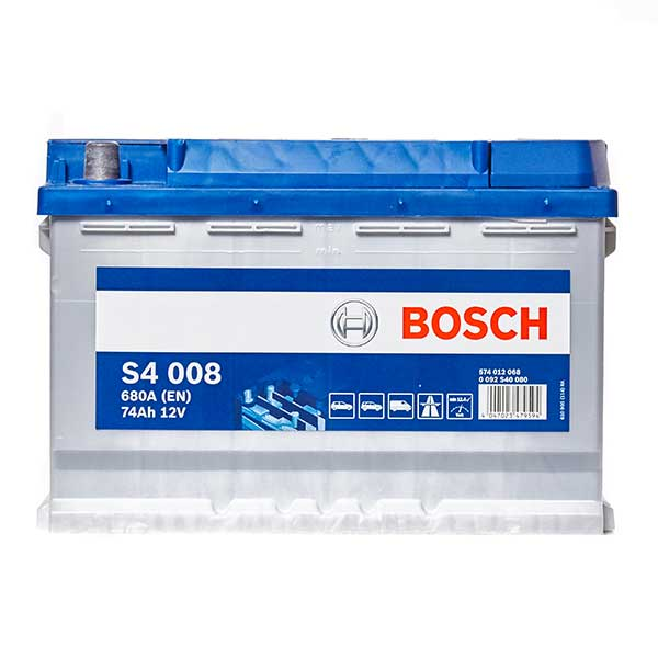 Bosch S4 Battery 096 4 Year Guarantee