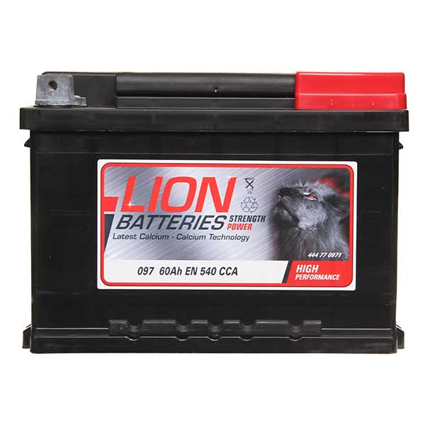 Lion Lion Battery 097 3 Year Guarantee