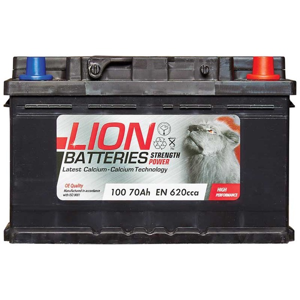 Lion 100 Battery - (70Ah) 3 Year Guarantee