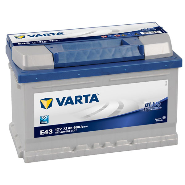 Varta Blue 100 Car Battery - 4 Year Guarantee