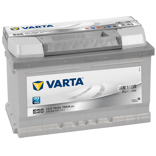 Varta Silver 100 Car Battery - 5 Year Guarantee