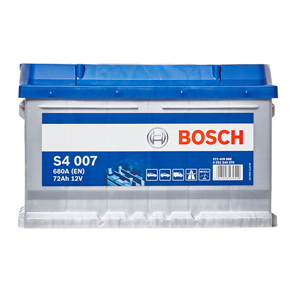 Bosch S4 Battery 100 (72Ah) 4 Year Guarantee