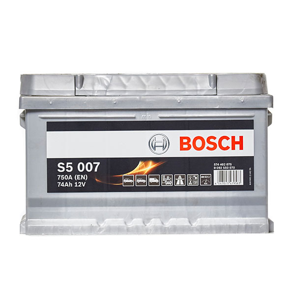 Bosch S5 Battery 100 (74Ah) 5 Year Guarantee
