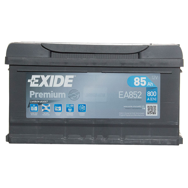Exide Premium 110 Car Battery (85Ah) - 5 Year Guarantee