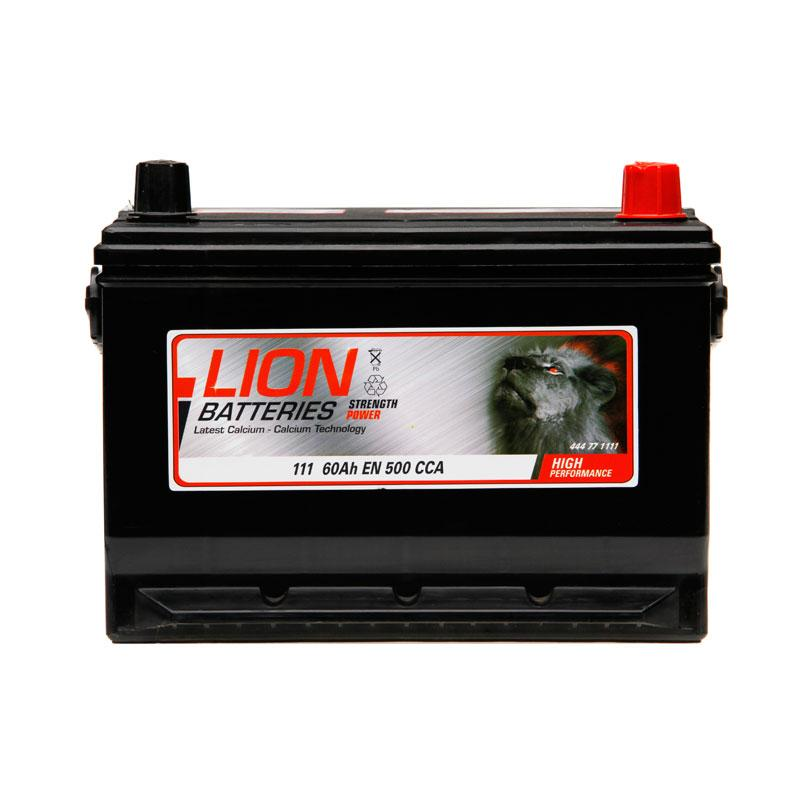 Lion Type 111 Battery - 3 Year Guarantee