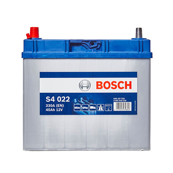 Bosch S4 Car Battery 155 4 Year Guarantee