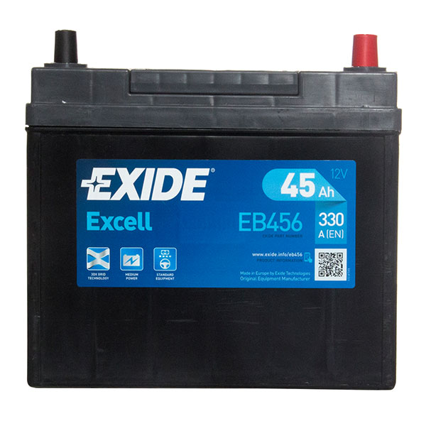 Exide Excel Car Battery 156 - 3 Year Guarantee