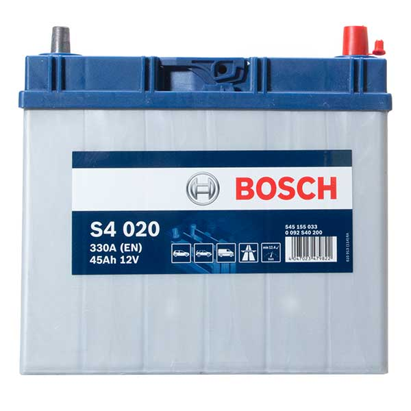 Bosch S4 Battery 156 4 Year Guarantee