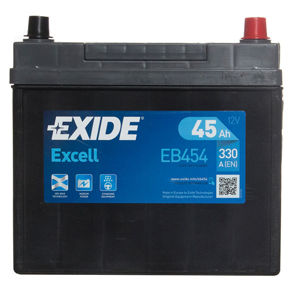 Exide Excel Car Battery 158 - 3 Year Guarantee