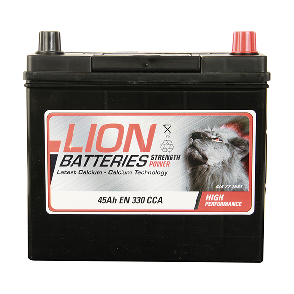 Lion 158 Car Battery - 3 Year Guarantee