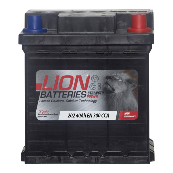 Lion Battery(202 Car Battery - 3 Year Guarantee)