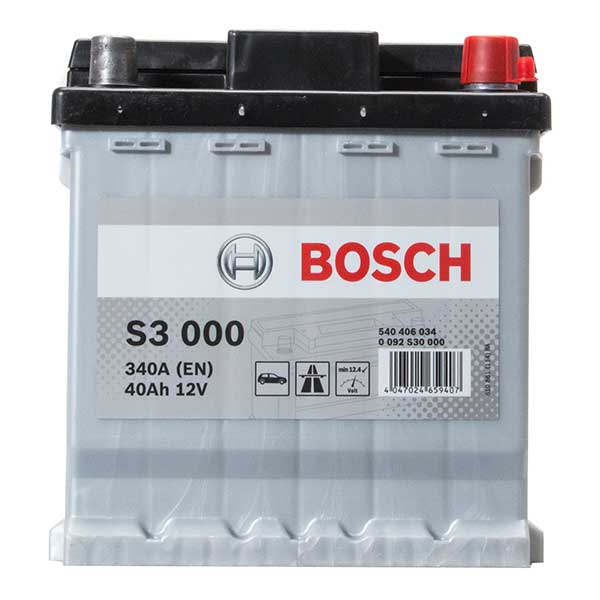 Bosch S3 Battery(Car Battery - 202 - 3 Year Guarantee)