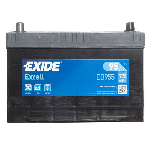 Exide Excel Car Battery 334 - 3 Year Guarantee