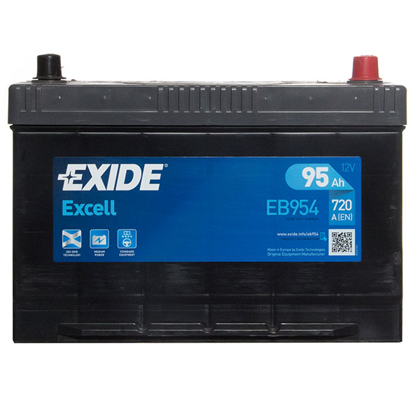 Exide Excel Car Battery 335 - 3 Year Guarantee