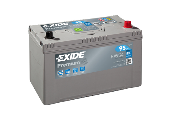 Exide PREMIUM Battery TYPE 334 4 Year Guarantee