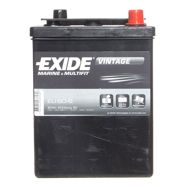Exide Excell Battery 421 3 Year Guarantee