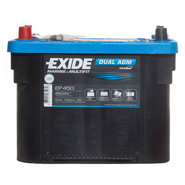 Exide AGM SPIRAL WOUND 2 Year Guarantee