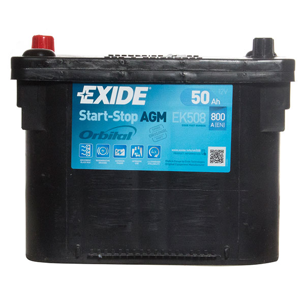 Exide AGM Centre Terminal Battery - 2 Year Guarantee