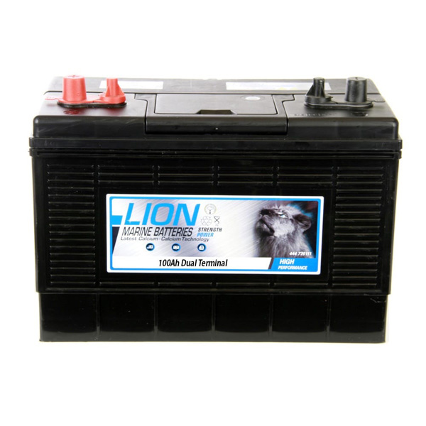 Lion Lion Sealed Marine Battery - 110Ah