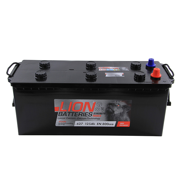 Lion Commercial Battery 627 - 2 Year Guarantee