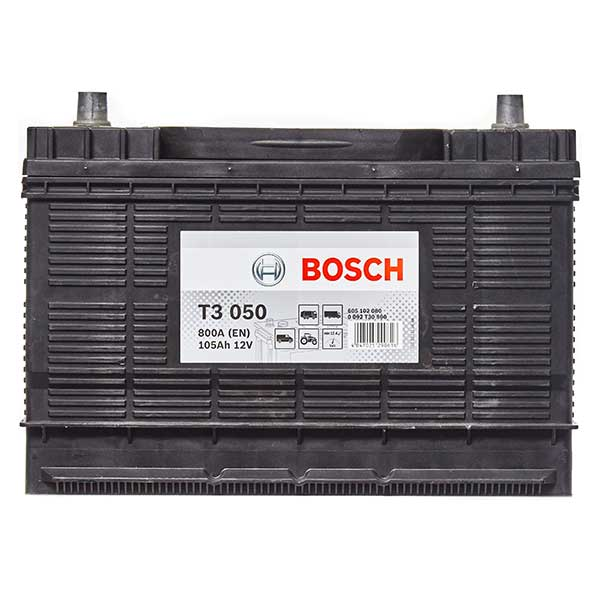 Bosch S3 640 Centre Terminal Battery (102Ah) - 3 Year Guarantee
