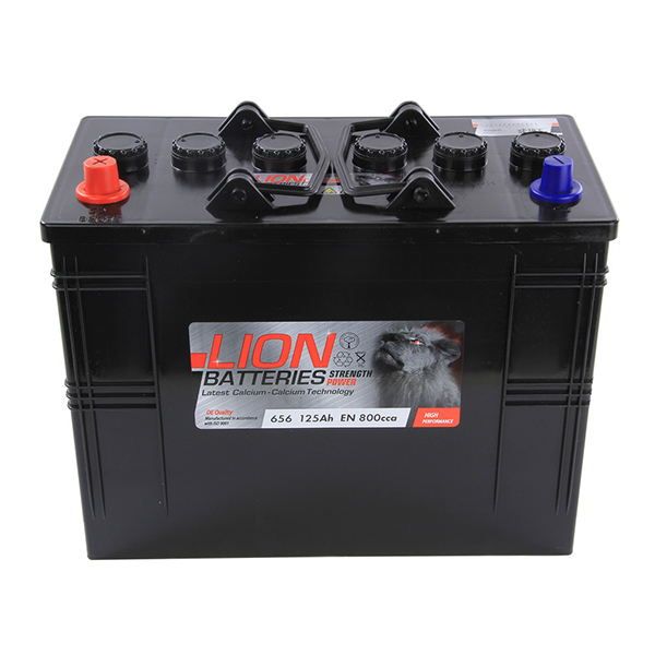 Lion Commercial Battery 656 - 2 Year Guarantee