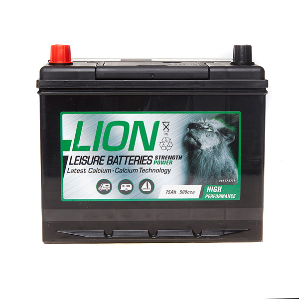 Lion Leisure Battery Type 677 - 75Ah