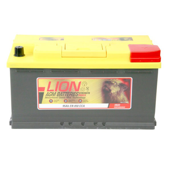 Lion AGM 019 Car Battery - 3 year Guarantee