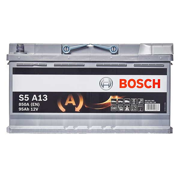 Bosch AGM 019 Car Battery - 3 Year Guarantee