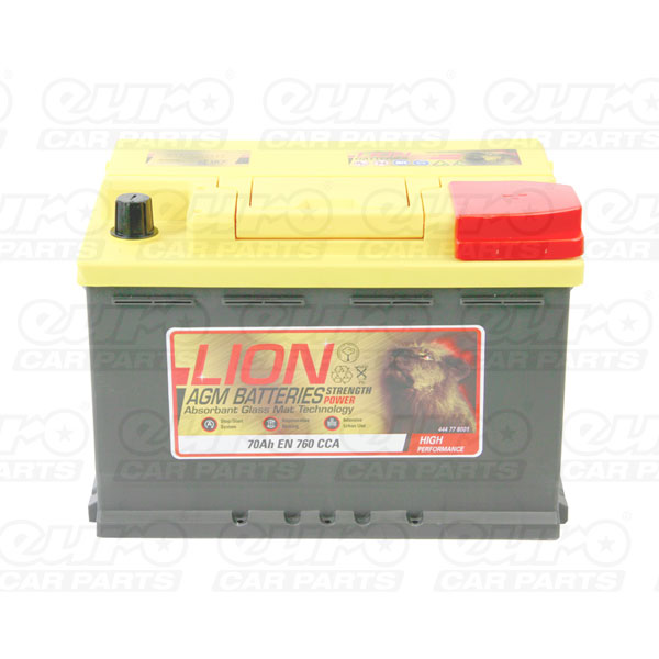 Lion AGM 096 Car Battery - 3 year Guarantee