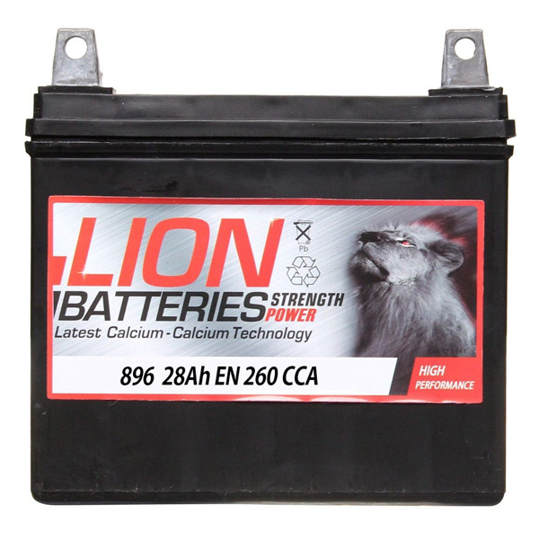 Lion Battery 896 2 Year Guarantee