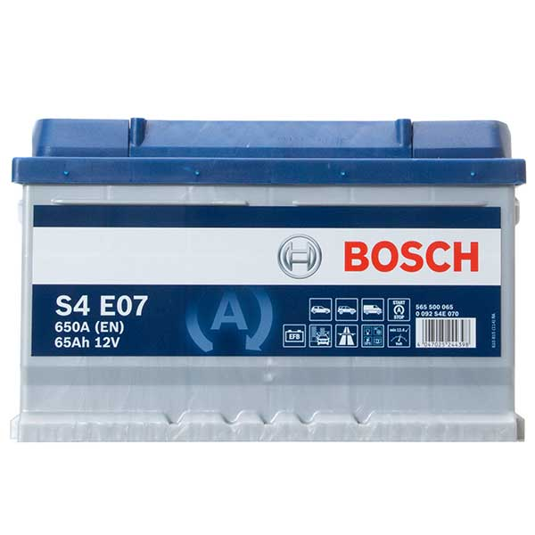 Bosch EFB 100 Car Battery - 3 year Guarantee