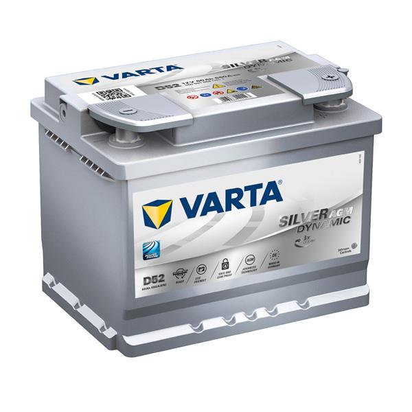 Varta AGM 027 Car Battery - 3 Year Guarantee